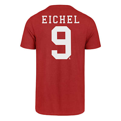 Back (47 Brand Boston University Jack Eichel Tee - Adult)