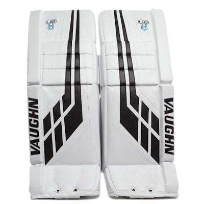 White/Black (Vaughn Velocity VE8 Pro Carbon Goalie Leg Pads - Senior)