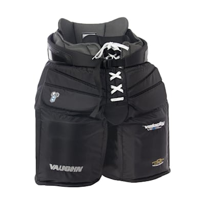Black (Vaughn Velocity VE8 Pro Carbon Goalie Pants - Senior)