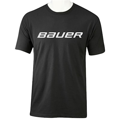 Black (Bauer Core Graphic Short Sleeve Tee - Adult)