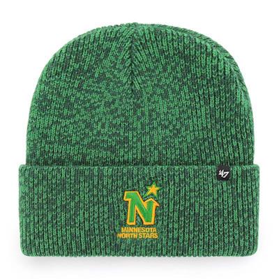 (47 Brand Brain Freeze Cuff Knit Hat - Minnesota North Stars)