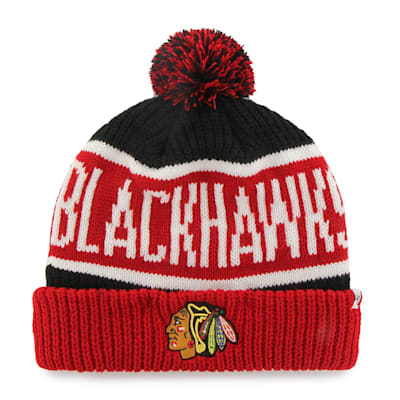 (47 Brand Calgary Cuff Knit Hat - Chicago Blackhawks)