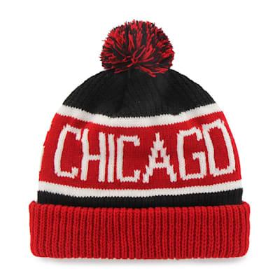 (47 Brand Calgary Cuff Knit Hat - Chicago Blackhawks)