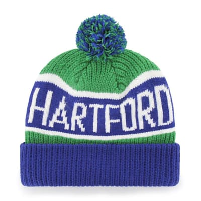 (47 Brand Calgary Cuff Knit Hat - Hartford Whalers)