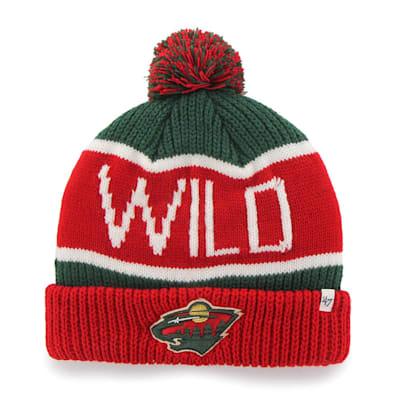 (47 Brand Calgary Cuff Knit Hat - Minnesota Wild)