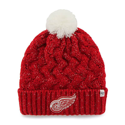(47 Brand Fiona Cuff Knit Hat - Detroit Red Wings)