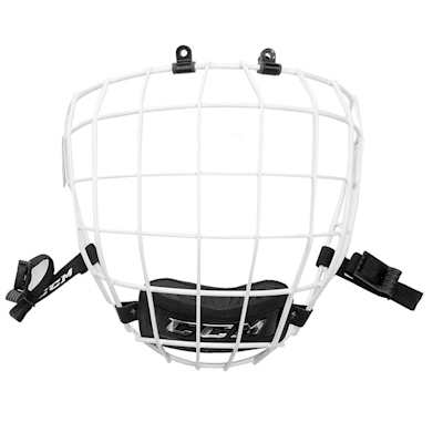 White (CCM FM680 Facemask)