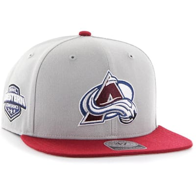 (47 Brand Sure Shot CAPTAIN Hat - Colorado Avalanche)