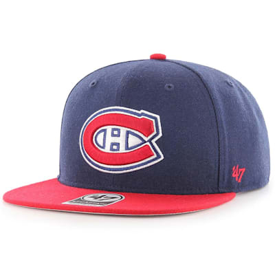 (47 Brand Montreal Canadiens Sure Shot Two Tone Snapback Cap)