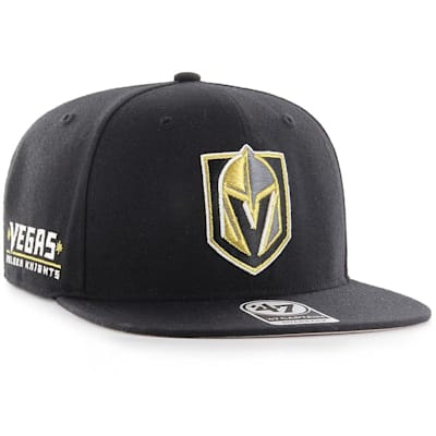 (47 Brand Vegas Golden Knights Sure Shot Captain Snapback Cap)