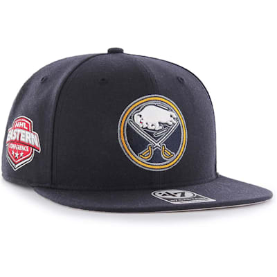 (47 Brand Buffalo Sabres Sure Shot Captain Snapback Cap)
