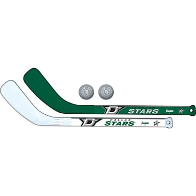 (Franklin NHL Mini Hockey Stick Set - Dallas Stars)