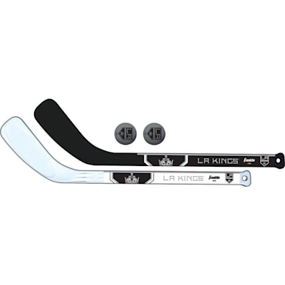 (Franklin NHL Mini Hockey Stick Set - Los Angeles Kings)