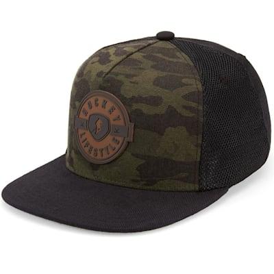 (Gongshow Camo Flow Adjustable Hat - Adult)