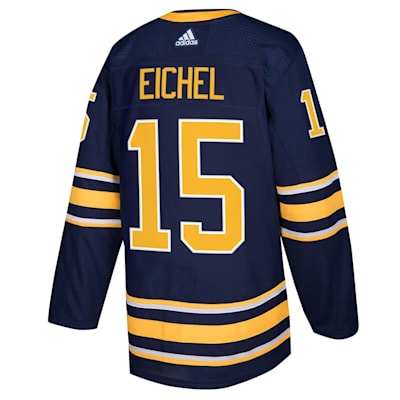Back (Adidas Buffalo Sabres Jack Eichel Authentic NHL Jersey - Home - Adult)
