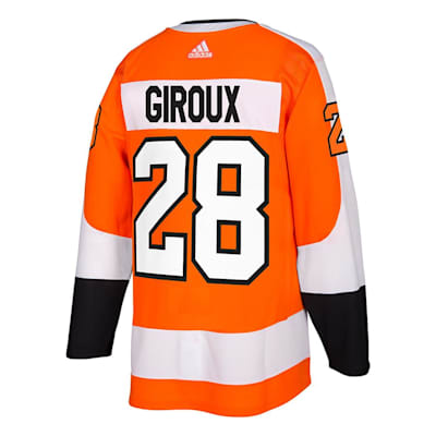 Back (Adidas Philadelphia Flyers Claude Giroux Authentic NHL Jersey - Home - Adult)