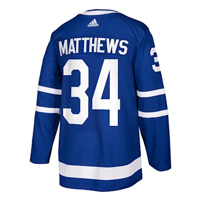 Back (Adidas Toronto Maple Leafs Auston Matthews Authentic NHL Jersey - Adult)