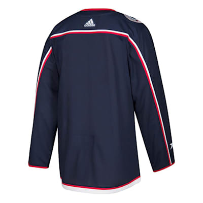 Back (Adidas Columbus Blue Jackets Authentic NHL Jersey - Home - Adult)