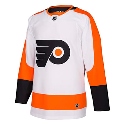 Front (Adidas Flyers Authentic NHL Jerseys - Away - Adult)