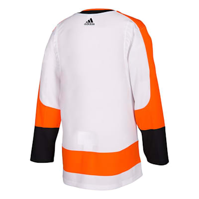 Back (Adidas Flyers Authentic NHL Jerseys - Away - Adult)