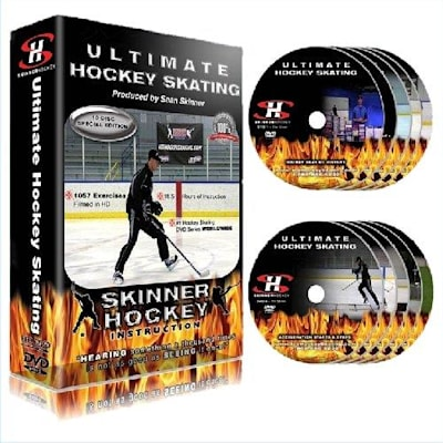 (Ultimate Hockey Skating 10 vol DVD series)