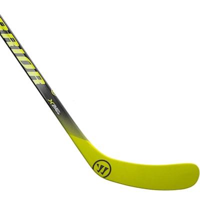 Outside Blade (Warrior Alpha QX Sabre Grip Composite Hockey Stick - Junior)