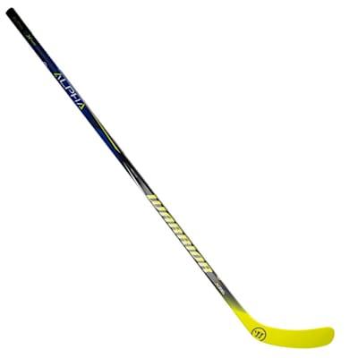 Full Length View (Warrior Alpha QX Sabre Grip Composite Hockey Stick - Junior)