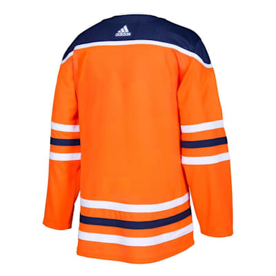Back (Adidas Edmonton Oilers Authentic NHL Jersey - Home - Adult)