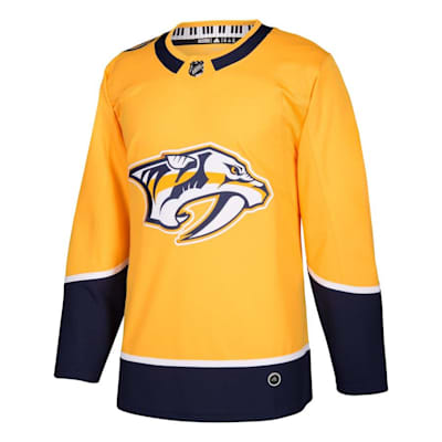 Front (Adidas Nashville Predators Authentic NHL Jersey - Home - Adult)