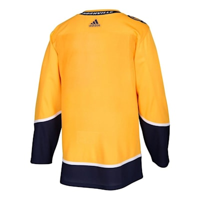 Back (Adidas Nashville Predators Authentic NHL Jersey - Home - Adult)