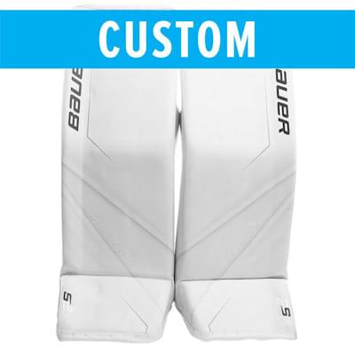 (Bauer Custom Supreme 2S Pro Goalie Leg Pads - Senior)