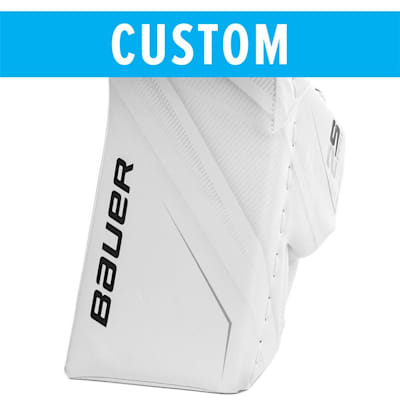 (Bauer Custom Supreme 2S Pro Goalie Blocker - Senior)