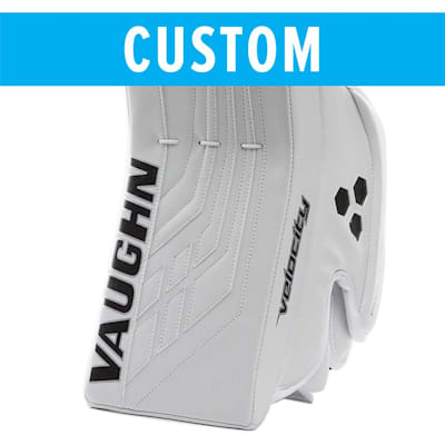 (Vaughn Custom Velocity VE8 Pro Carbon Goalie Blocker - Senior)