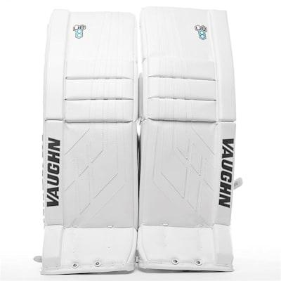 White/White (Vaughn Velocity VE8 XFP Goalie Leg Pads - Junior)
