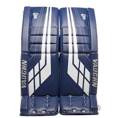 Blue/White (Vaughn Velocity VE8 XFP Goalie Leg Pads - Senior)