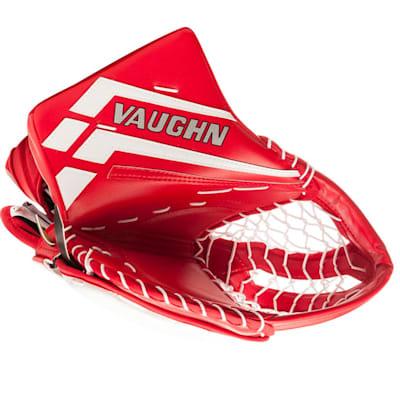 Red/White (Vaughn Velocity VE8 XFP Goalie Catch Glove - Senior)