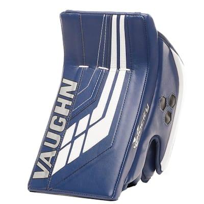 Blue/White (Vaughn Velocity VE8 XFP Goalie Blocker - Junior)