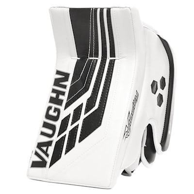 White/Black (Vaughn Velocity VE8 XFP Goalie Blocker - Intermediate)