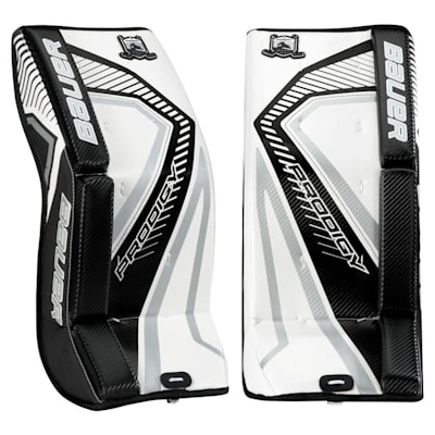 White/Black/Silver (Bauer Prodigy 3.0 Goalie Leg Pads - Youth)
