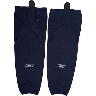 Navy (Reebok SX100 Edge Solid Color Hockey Socks - Junior)