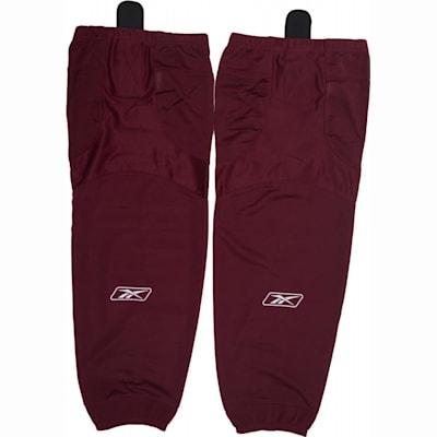 Burgundy (Reebok SX100 Edge Gamewear Hockey Socks - Junior)