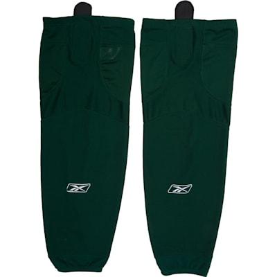 Dark Green (Reebok SX100 Edge Solid Color Hockey Socks - Junior)