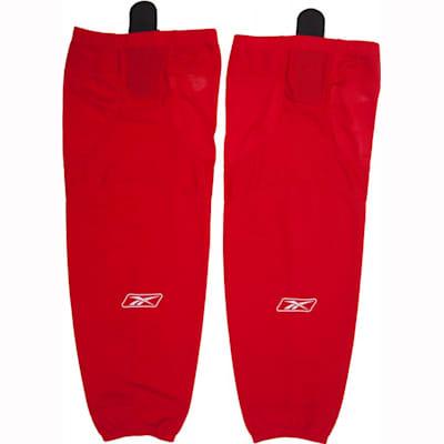 Red (Reebok SX100 Edge Gamewear Hockey Socks - Senior)