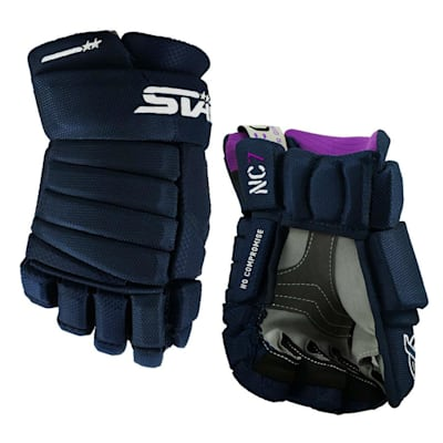 Navy (Stark NC7 - MFG Hockey Gloves - Womens)