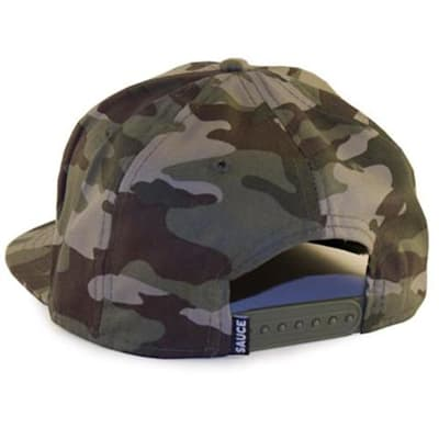 Back (Sauce Hockey Worst Seat Hockey Hat - Camo - Adult)