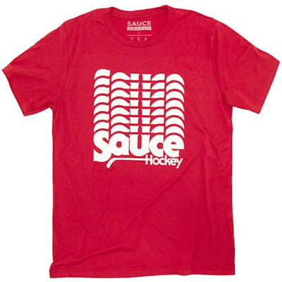 Red (Sauce Hockey Cap Space Hockey Tee Shirt - Mens)