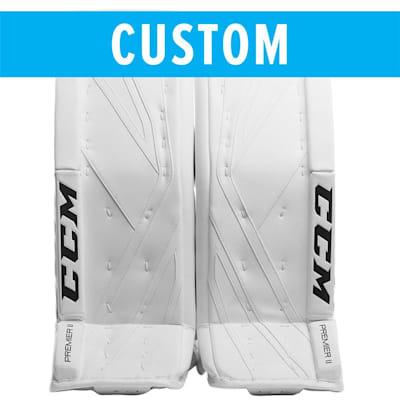 (CCM Custom Premier II Pro Goalie Leg Pads - Intermediate)