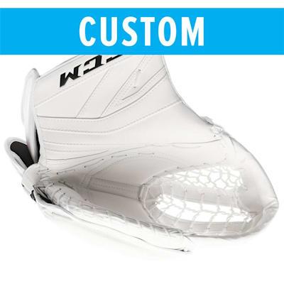 (CCM Custom Premier II Pro Goalie Catch Glove - Senior)