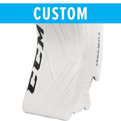 (CCM Custom Premier II Pro Goalie Blocker - Senior)