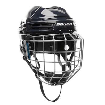 Navy (Bauer S18 IMS 5.0 Hockey Helmet Combo)